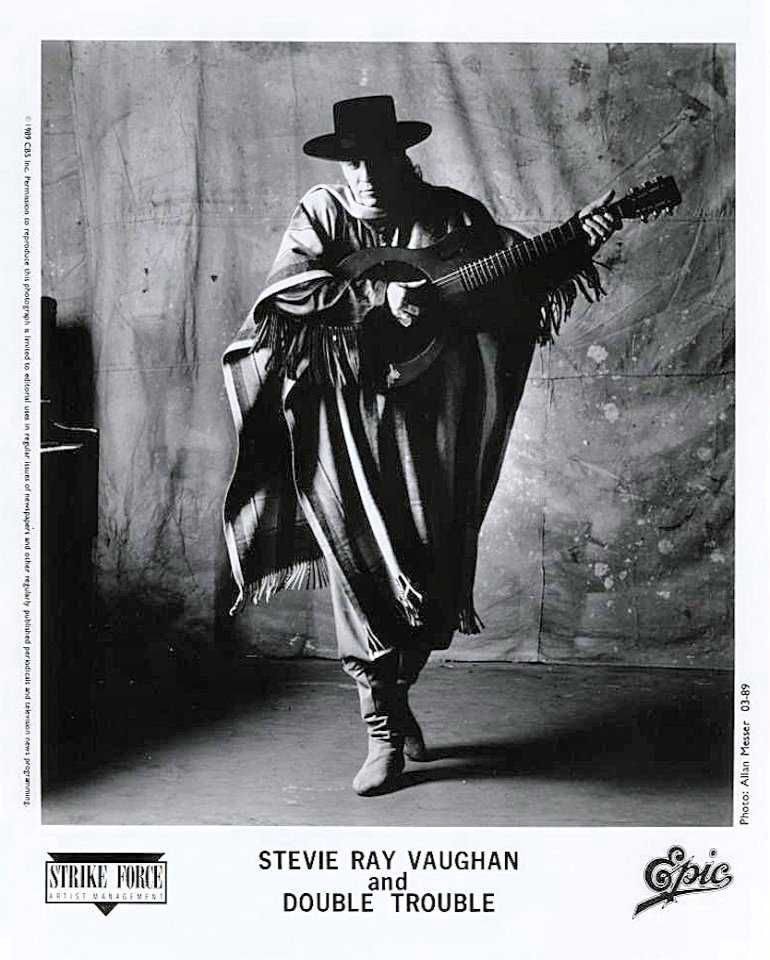 Stevie Ray Vaughan Promo Photo
