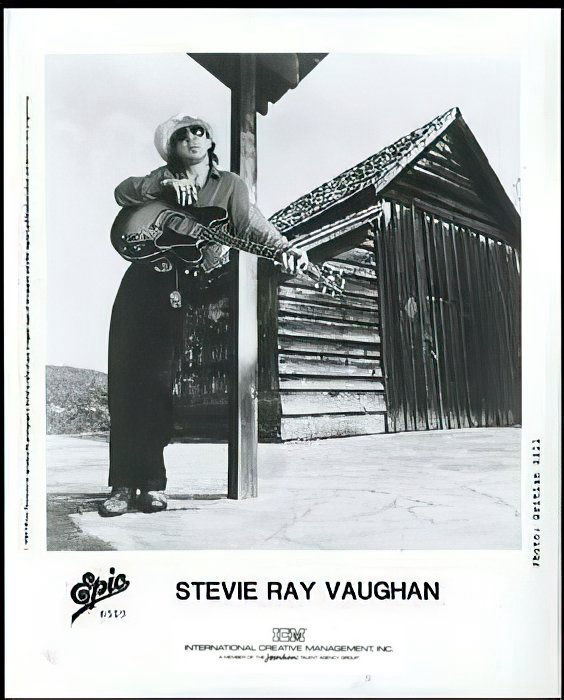 Stevie Ray Vaughan & Double Trouble Promo Photo