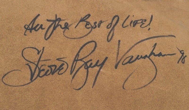 Stevie Ray Vaughan Autograph