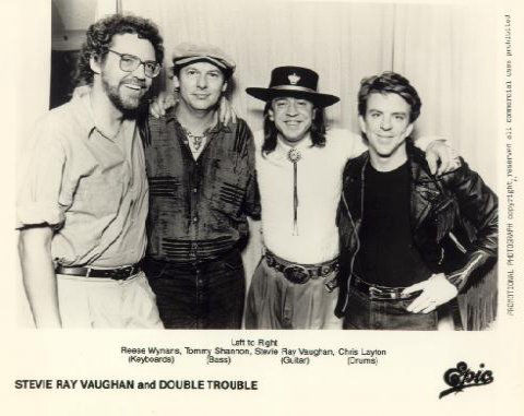 Stevie Ray Vaughan and Double Trouble Promo Photo