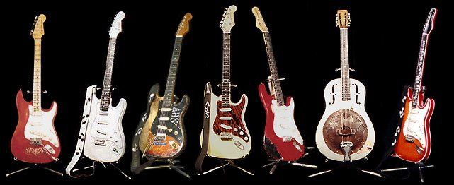 The SRV Guitar Collection