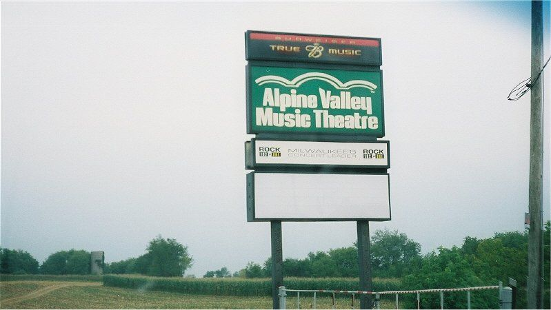 Alpine Valley Sign