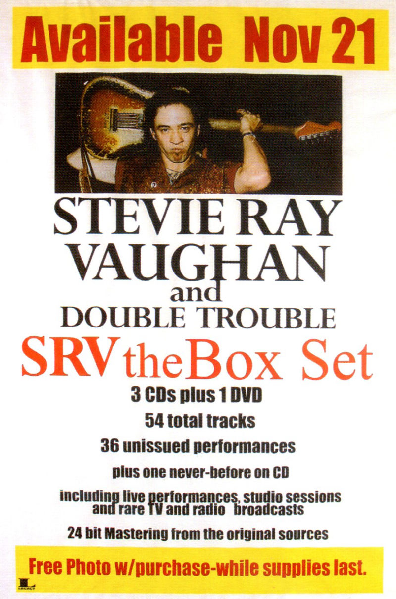 SRV Box Set Advert