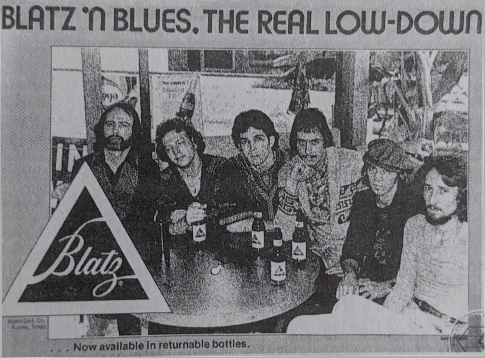 Paul Ray and the Cobras Blatz Beer Advert