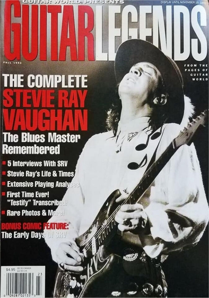 The Stevie Ray Vaughan Comic