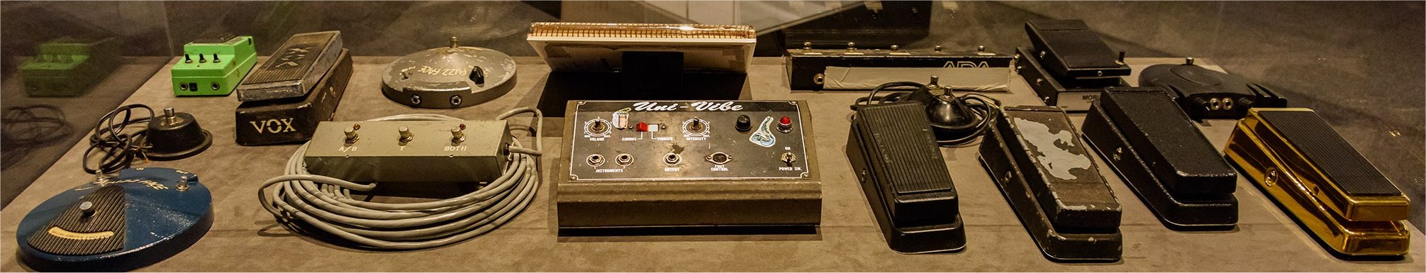 Stevie Ray Vaughan Effects Pedals