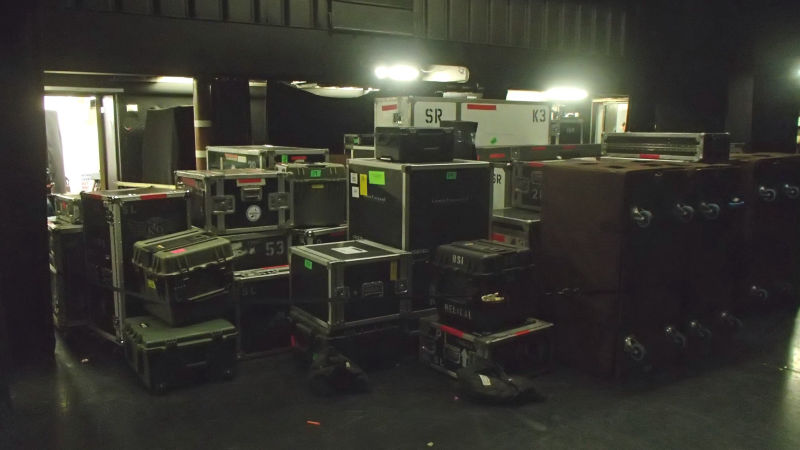Stevie Ray Vaughan Touring Equipment