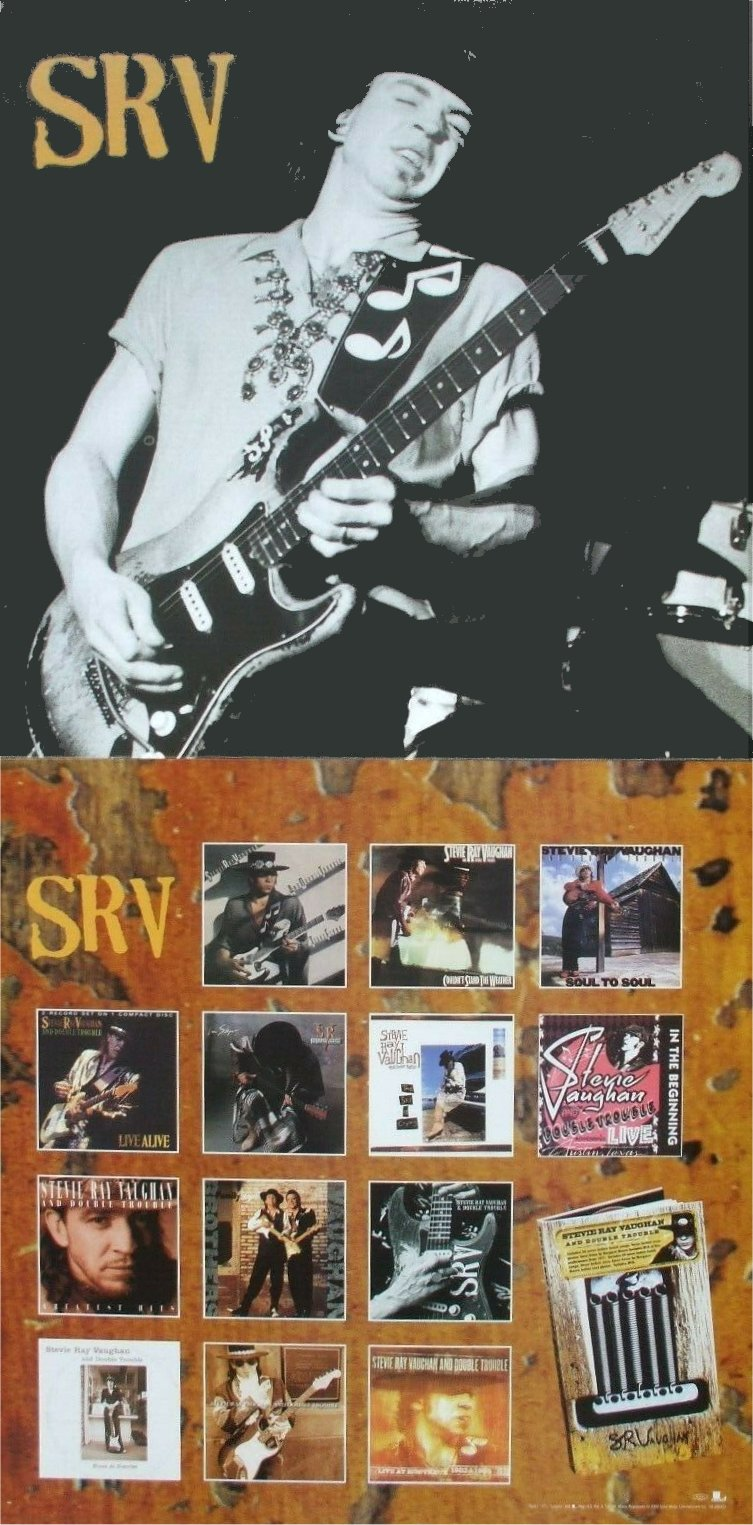 Essential Stevie Ray Vaughan Poster Advert