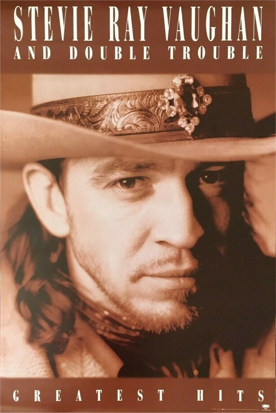 Stevie Ray Vaughan Greatest Hits Poster