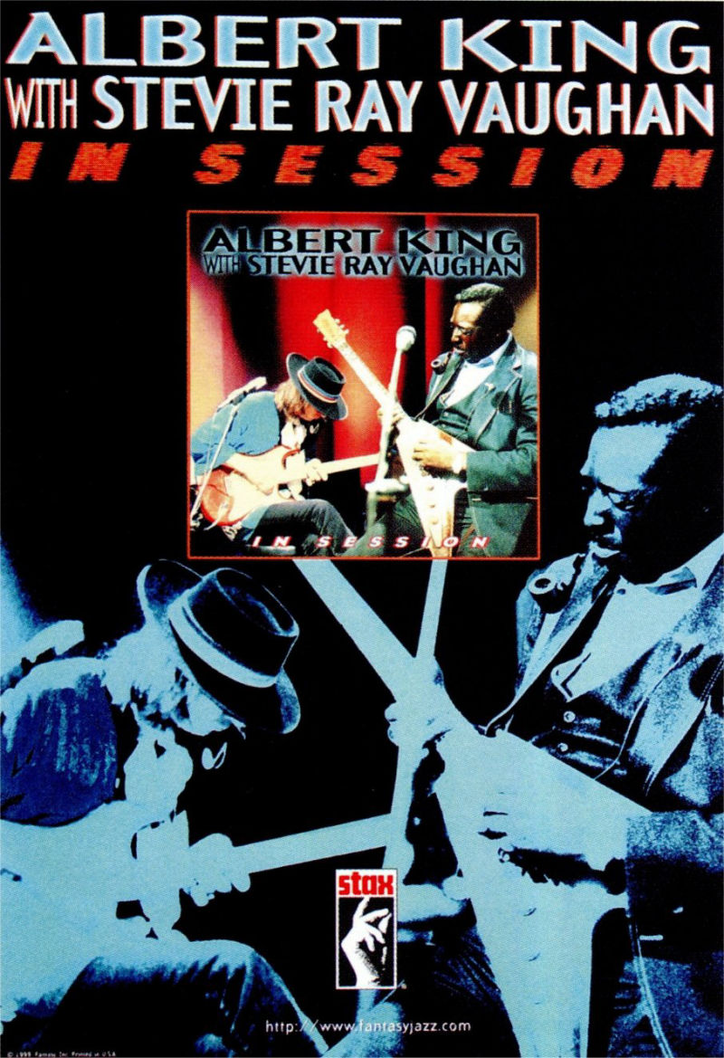 In Session with Albert King Poster