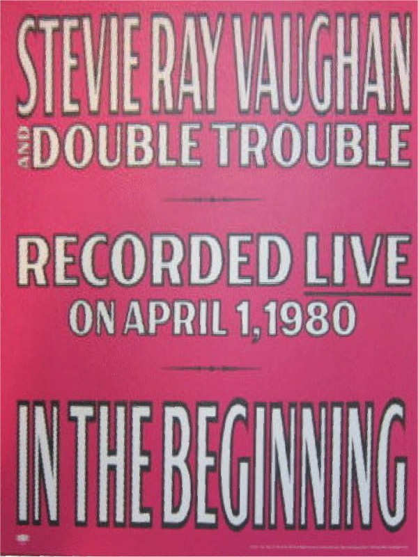 Advertisement Poster for In the Beginning