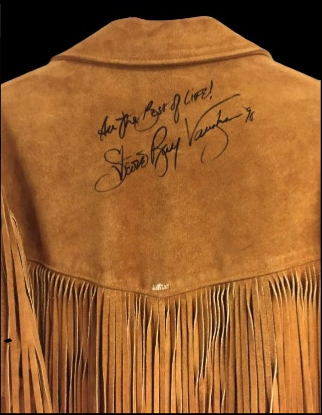 Stevie Ray Vaughan Autographed Jacket