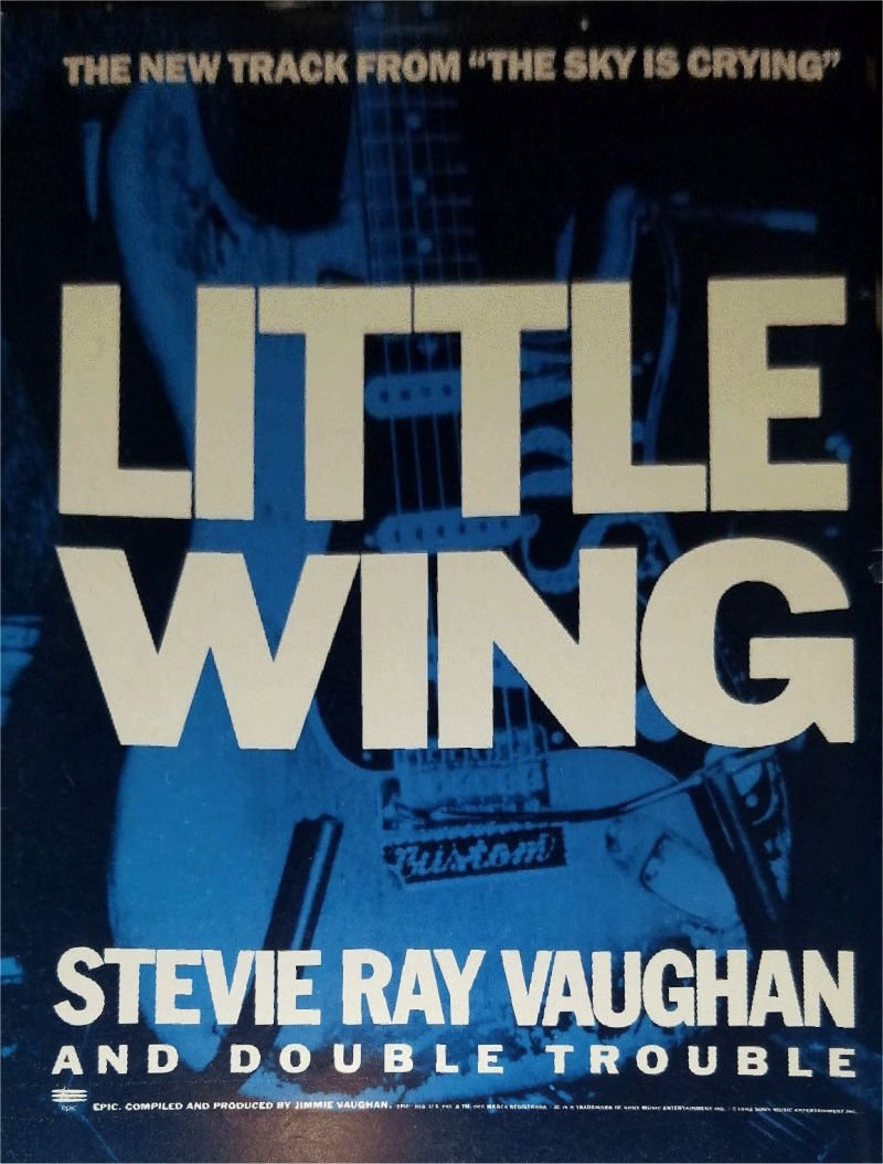 Little Wing Advertising Poster