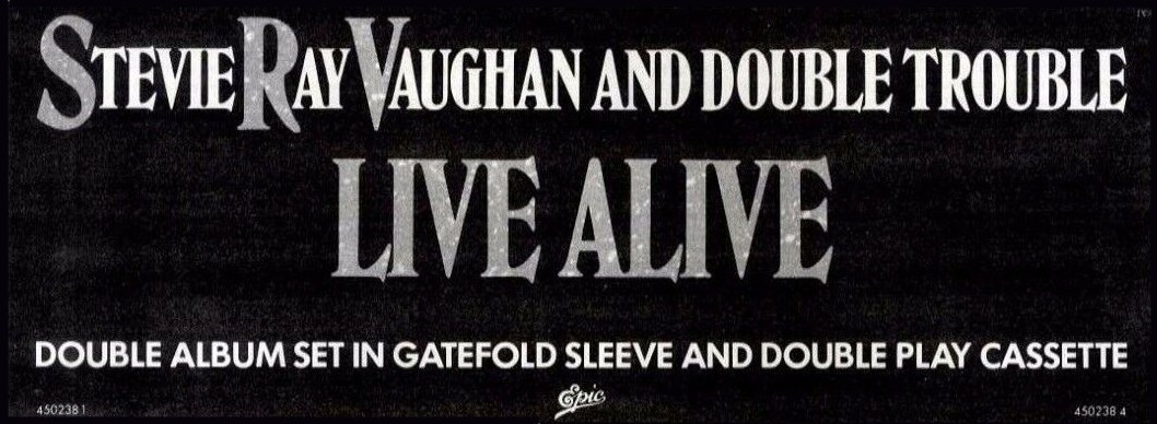 Live Alive Advert