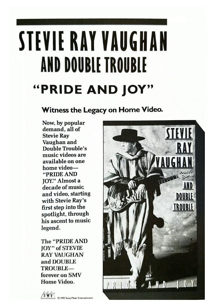 "Magazine Advert for ""Pride and Joy"" DVD"
