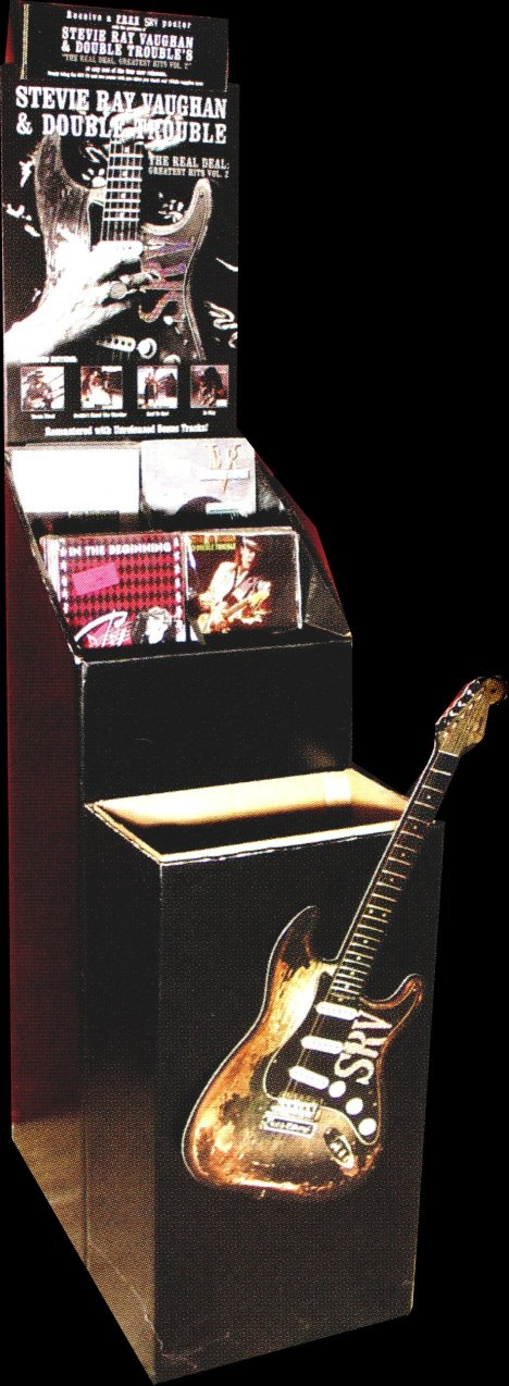 Stevie Ray Vaughan 1999 Record Store Bin