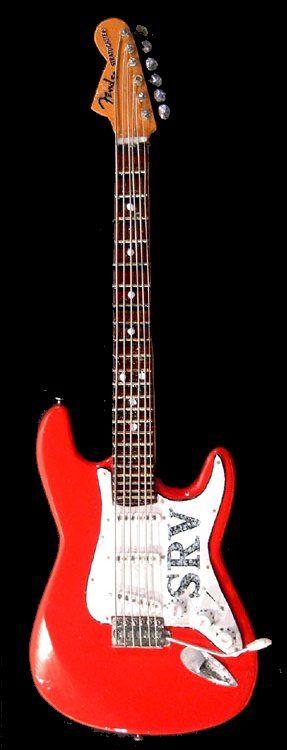 1962 Fender Stratocaster Red