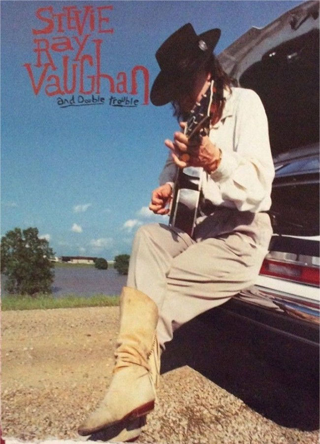 Stevie Ray Vaughan The Sky is Crying Advertisement