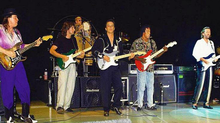 Stevie Ray Vaughan Last Show