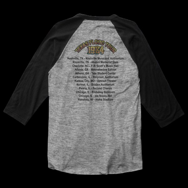 Texas Flood Tour Baseball Shirt