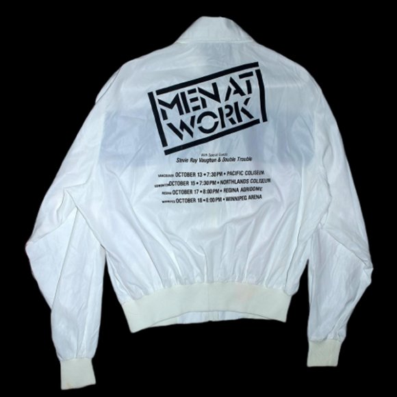 Men at Work Stevie Ray Vaughan Tour Jacket