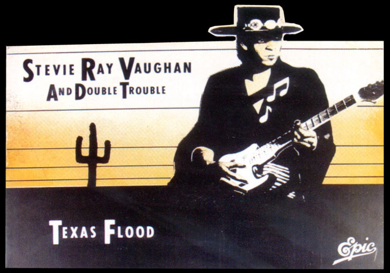 Texas Flood Cardboard Promo Display