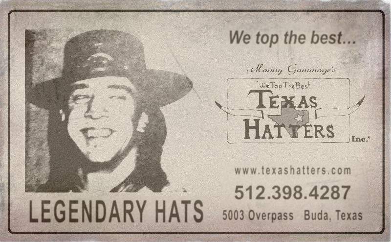 Texas Hatters Newspaper Advert