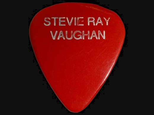 Stevie Ray Vaughan's Guitar Picks